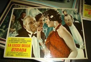 El-Legge-de-Strada-Fotobusta-Pequena-Original-1956-Pampanini-Trintignant-B
