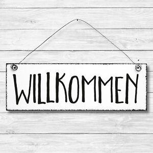 Deko Tür Wand Schild Holz Shabby Chic NÄHSTUBE Geschenk Landhaus Vintage Retro