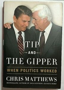 Tip and The Kipper Signed by Chris Matthews Autographed Hardback MSNBC Hardball