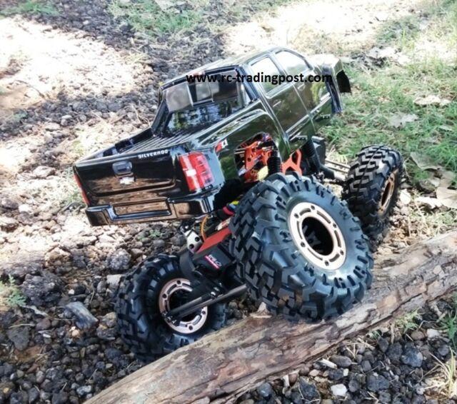 Silverado 2500 Custom Painted 4X4 RC Rock Crawler RockslideRS10 4 Wheel  Steering dad6839147