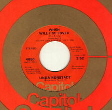 Linda Ronstadt - When Will I Be Loved - Original issues