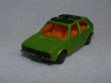 Matchbox Lesney Superfast No 7 Volkswagen VW Golf GREEN