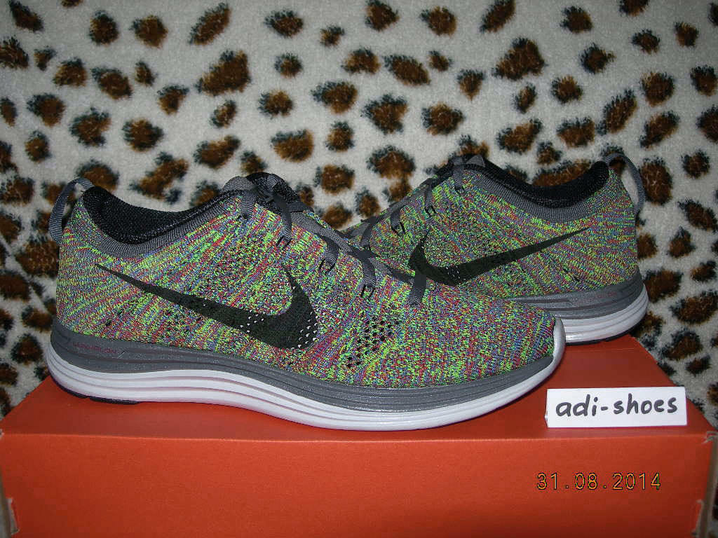 2013 NIKE FLYKNIT LUNAR1+ MULTICOLOR US 7 7,5 8 trainer 554887-004 racer mariah