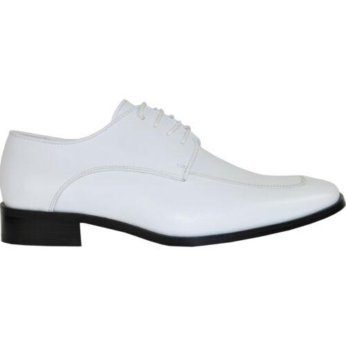 VANGELO New Men Dress Shoe TUX-3 Oxford Formal Event Moc Toe Wrinkle Free