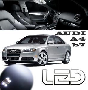 A4 Lumière Blanc 6 intérieur plafonnier Kit Led AUDI Detalles avant Ampoules de arrière B7 rdCxWQoEBe