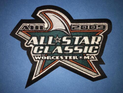 2009 AHL All Star Game Worcester Sharks Hockey Shoulder Jersey Patch Crest