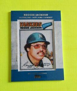 2013-Topps-Fabricado-Parche-MCP18-Reggie-Jackson