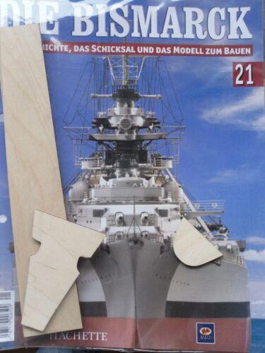 Bismarck//Ausgabe 21//Hachette//Die Geschichte und  Modell Bauen