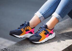 c2971ca43c1a5 Nike Wmns Air Huarache Run PRM  Sunset Pack  683818-401 Size UK 4.5 ...
