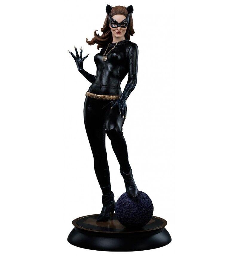 Sideshow Batman 1966 estatua 1 4 Premium Formato Catwoman Exclusivo