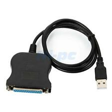USB TO 25 PIN FEMALE PARALLEL PRINTER ADAPTER CABLE PC