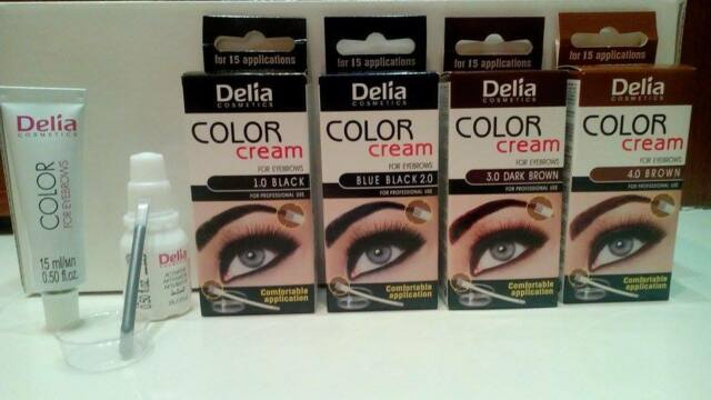 !FAST DELIVERY! UP TO 15 APPLICATIONS HENNA CREAM Eyebrow Eyelashes Tint Kit Dye