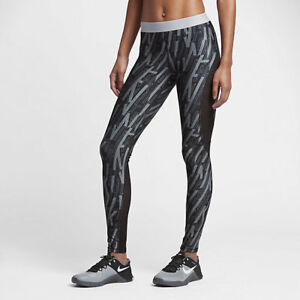 10c83a11bc19f1 Image is loading NIKE-PRO-HYPERCOOL-WOMEN-TRAINING-GRAPHIC-TIGHTS-BLACK-