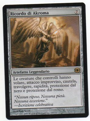 MTG Italian Akroma/'s Memorial Future Sight NM