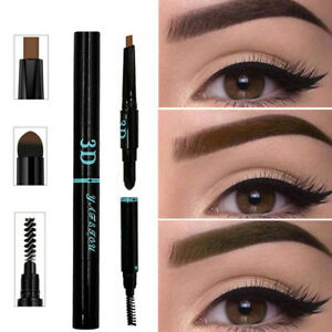 3-IN-1-Waterproof-Multifunctional-Automatic-Eyebrow-Pigment-Makeup-Kit-Tools-NEW