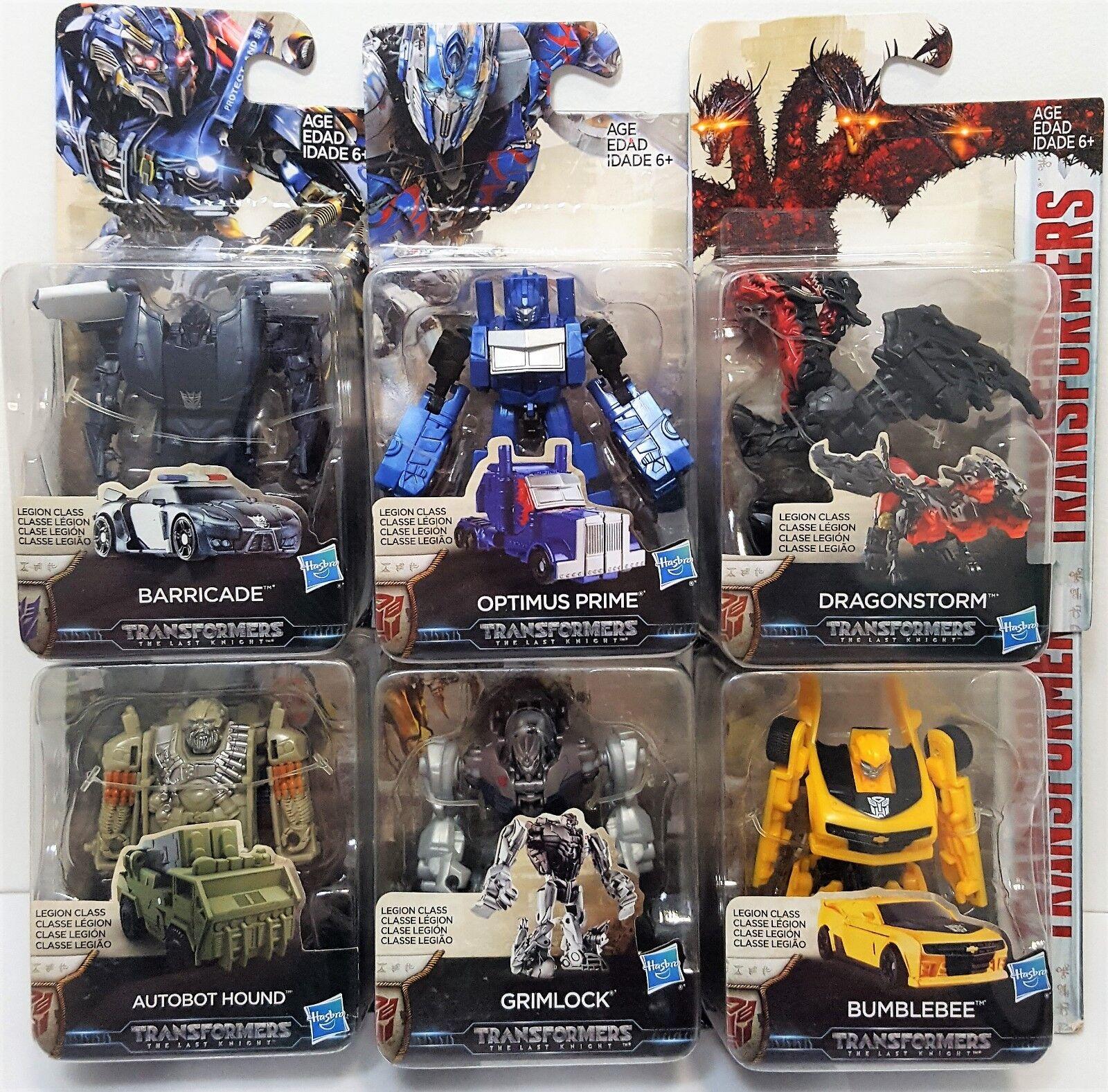 Transformers Legion classe Set of 6 The Last Knight azione cifra Hasbro