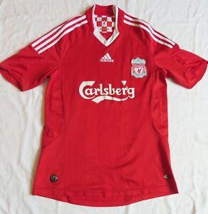LIVERPOOL FC Adidas Home Shirt 2008/10 (S)