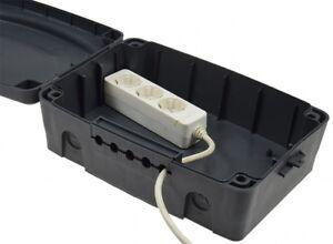 Outdoor-Sicherheitsbox-IP54-wasserfeste-Aussen-Elektro-Box-Steckdosen-Safe-102541