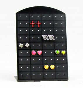 Black-36-Pair-Earrings-Display-Stand-Organizer-Jewelry-Holder-ShowCase-Tool-Rack