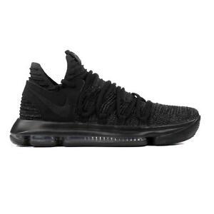 sale retailer d138f 9cace ... Hommes-Nike-Zoom-Kd10-Noir-Baskets-897815-004