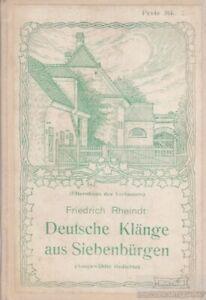 Deutsche-Klaenge-aus-Siebenbuergen-Rheindt-Friedrich