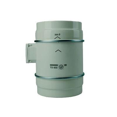 Billiger Preis Rohrventilator S&p Td 800/200 Halbradial 800m3 Für 200mm Rohr Lüfter Grow StäRkung Von Sehnen Und Knochen