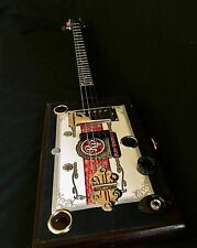 Cigar Box Guitar- Bydand Instruments (Rocky Patel) 4-String W/ Humbucker