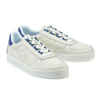 Scarpe DIADORA B.ELITE L PERF sneakers uomo pelle biancoblu | eBay