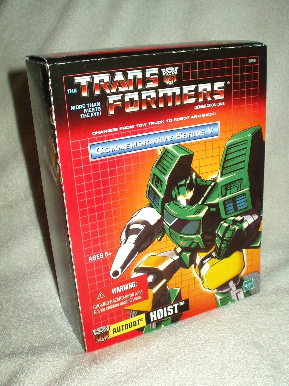 Transformers Action Figure Takara Reissue Commemorative Series V Hoist