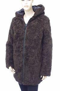 Détails Sur Oakwood Veste Fausse Fourrure 2 En 1 Réversible Manteau Femme Alina Taille S