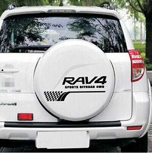 Toyota Rav4 Boot Size >> 1 Pcs Black RAV4 Sport Sticker Trunks Boot Back Rear Decal Emblems For RAV 4 | eBay