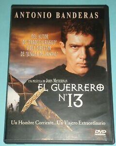 Dvd El Guerrero Número 13 Antonio Banderas John Mc Tiernan Descatalogado Ebay