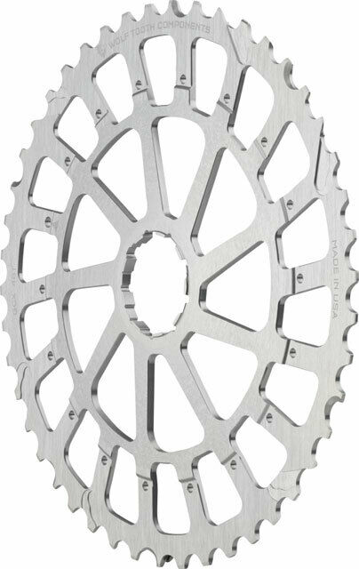 Wolf Tooth Components Gcx XX1 X01 Recambio Engranaje 46T Silber