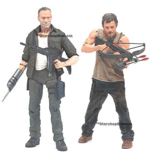 WALKING DEAD TV Daryl /& Merle Dixon Action Figure 2-Pack McFarlane
