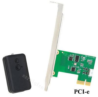 PCI-E Card PC Desktop Remote Controller 20m Wireless Restart Switch Turn On Off