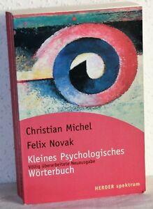 Christian-Michel-Felix-Novak-KLEINES-PSYCHOLOGISCHES-WORTERBUCH