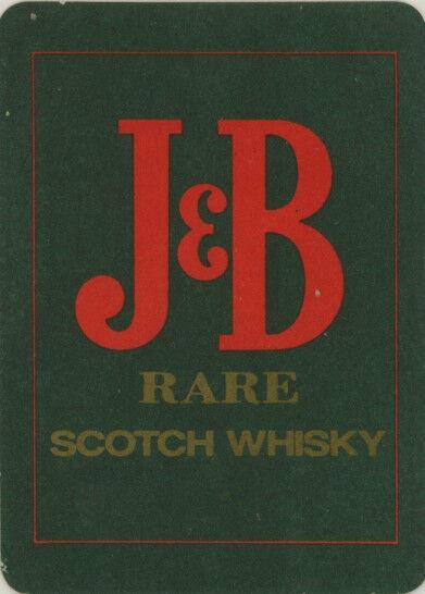 Coaster: J & B Scotch Whisky
