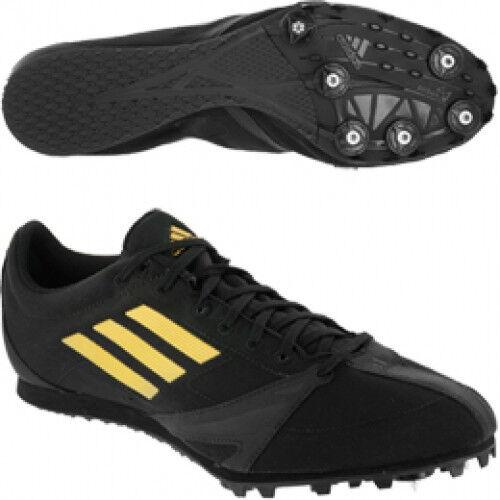 adidas Mens Arriba 3 M Track & Field Shoes 13 Medium Black Gold NEW 99 V20187