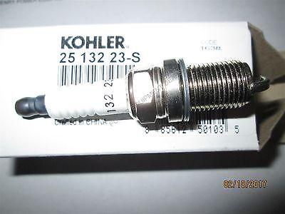 Genuine OEM Kohler PLUG SPARK part# 25 132 23-S