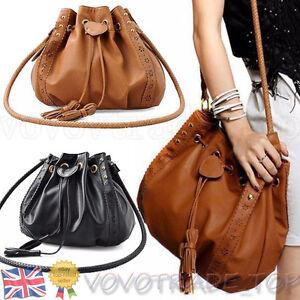 Women-Leather-Shoulder-Handbag-Tote-Bag-Fashion-Ladies-Messenger-Bags-Lot