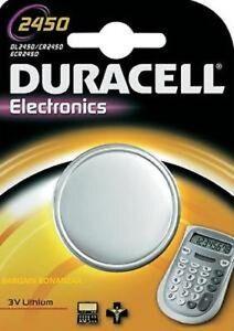10-X-Duracell-CR2450-3v-Pilas-de-boton-litio-baterias-2450