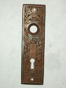 Image is loading Antique-Eastlake-Door-Knob-Backplate-35 & Antique Eastlake Door Knob Backplate #35   eBay