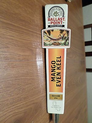 "Brand New In Box! Ballast Point Mango Even Keel IPA Beer Tap Handle 11.5"" Tall"