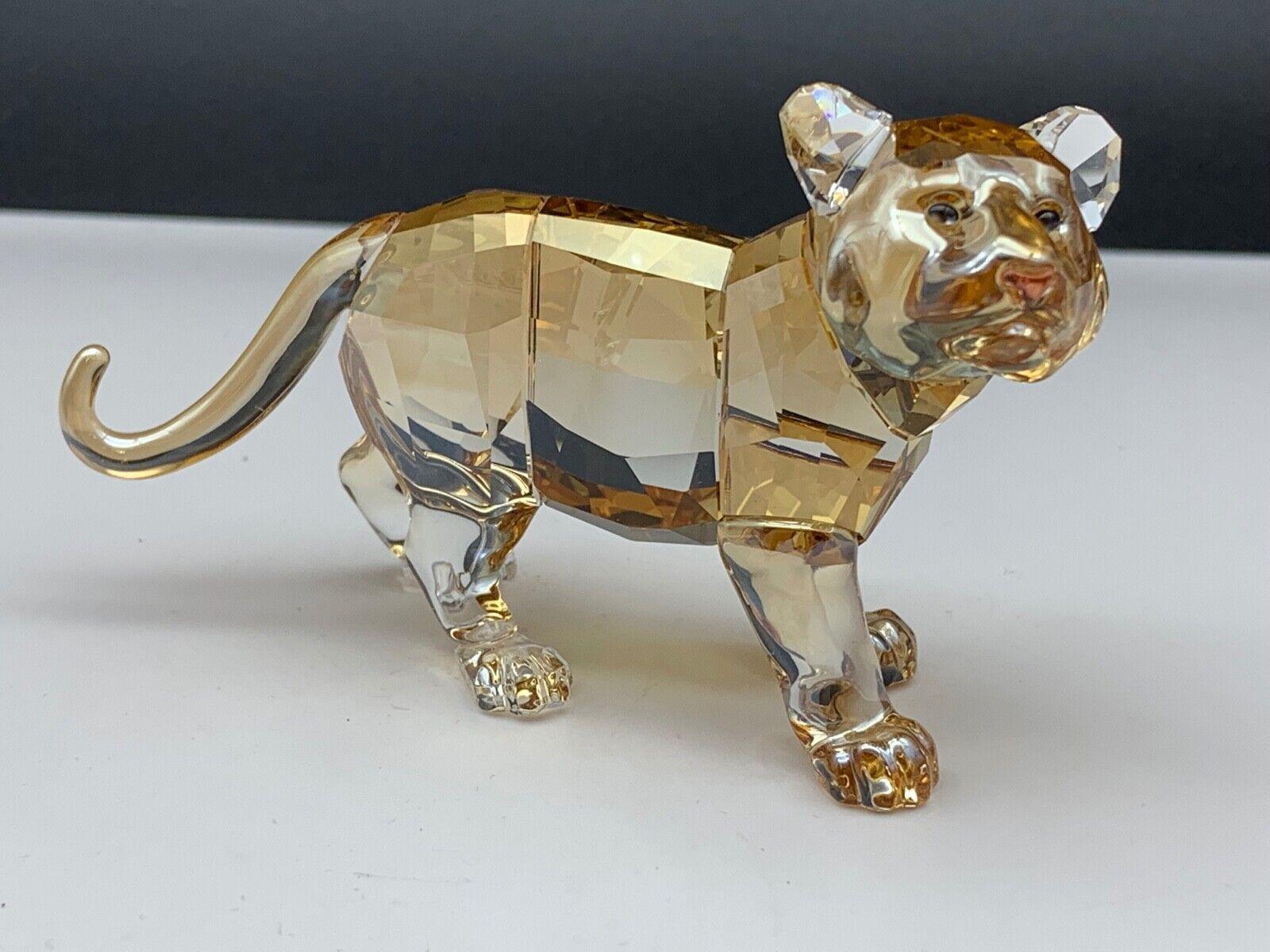 Swarovski Figur 1051686 SCS Tiger Jungtier 9 cm. Top Zustand