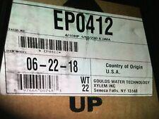Goulds Ep0412 410 Hp Submersible Effluent Pump 230v 160 230v