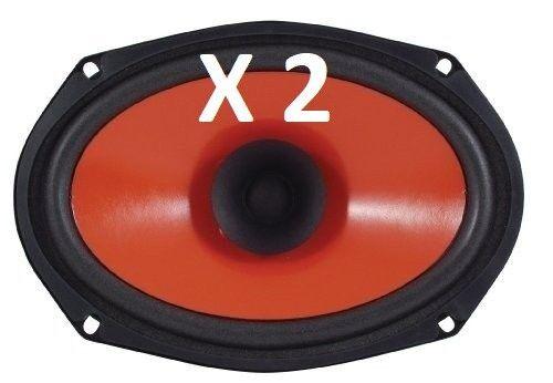 "1 or 2 ea ~ Dual 6/"" x 9/"" Automobile Car Speaker ~ 4 Ohms ~ 50 watts ~ R69S"