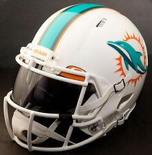 MIAMI DOLPHINS NFL Authentic GAMEDAY Football Helmet w/ OAKLEY Eye Shield