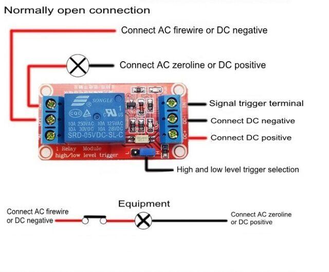 9V 4-Kanal Relay Module with Optocoupler H//L Level Triger für Arduino Relais new