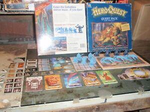 Heroquest-Elf-Quest-Pack-original-materials-Hero-Quest-materiali-originali-spare