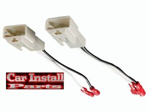 MITSUBISHI Speaker Wire Harness Connects Aftermarket to OEM Adapter Plugs  M-8104 | eBayeBay